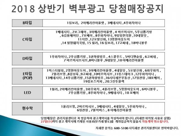 2018 상반기 벽부광고 당첨매장공지 시티몰공지.jpg